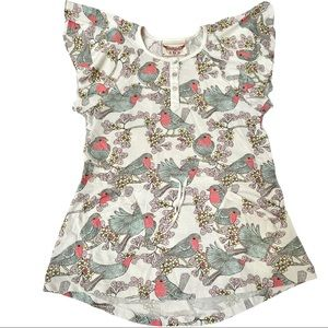 Paper Wings Red Robins Dress 6